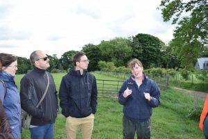 Newbie visit to Upper Tullochbeg Farm, Aberdeenshire, Scotland