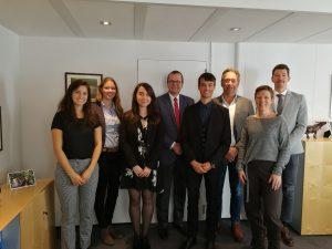 Newbie consortium in Brussels